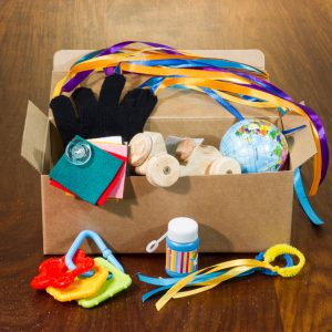 Sensory box photo by Solid Stuff Creative