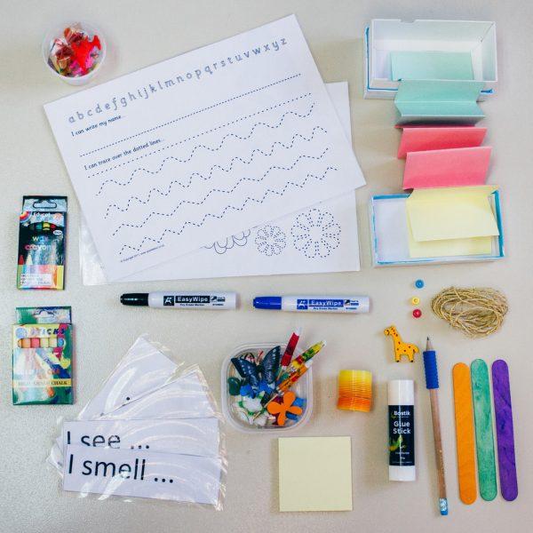 Literacy box photo by Solid Stuff Creative